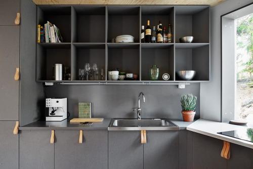 Open keukenrekken