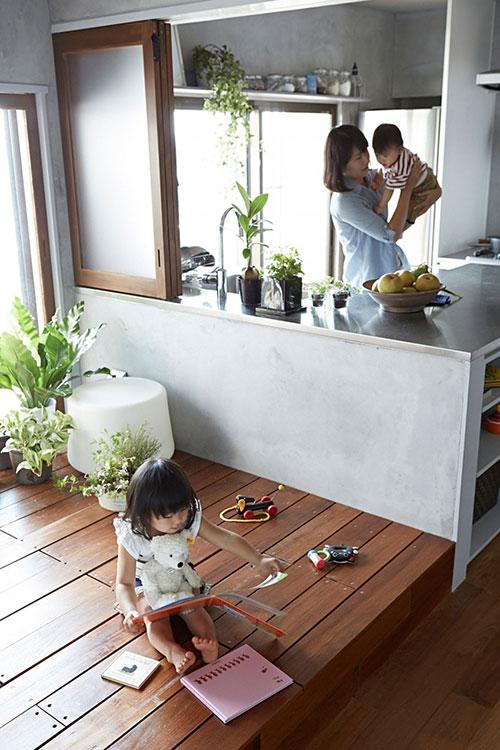 Open woning inrichting in Japan