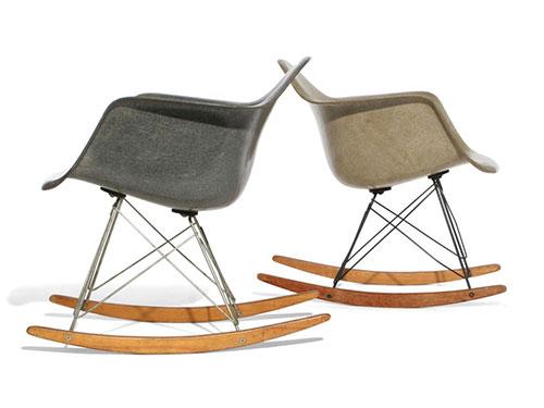 Originele Eames schommelstoel