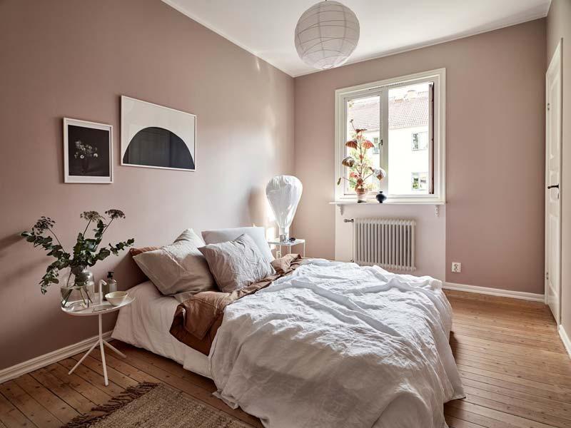 oud roze muur flexa mild plum