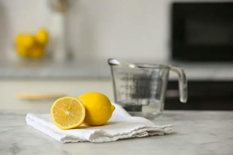 oven schoonmaken citroenen