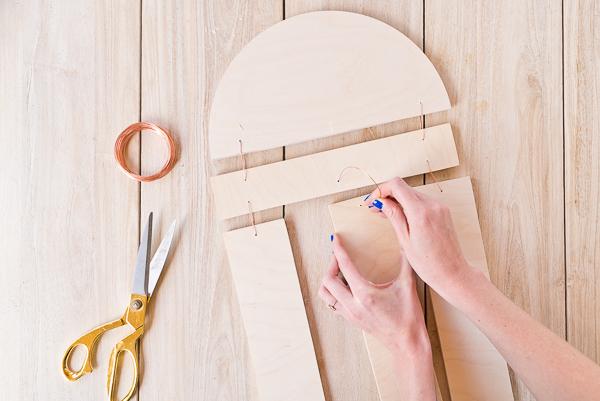 DIY Houten wanddecoratie maken