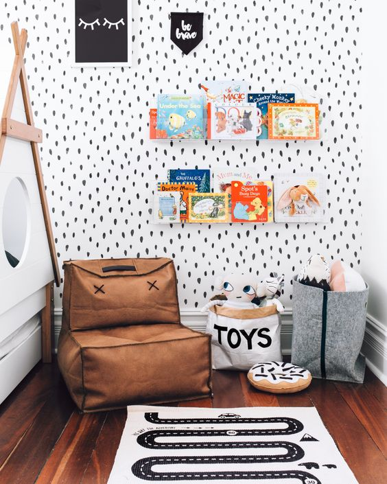 Papieren opbergzak speelgoed