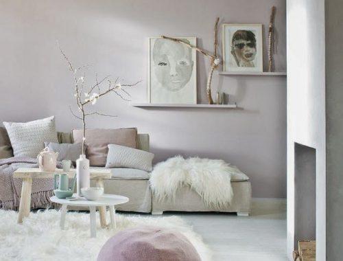 Pastelkleuren in het interieur