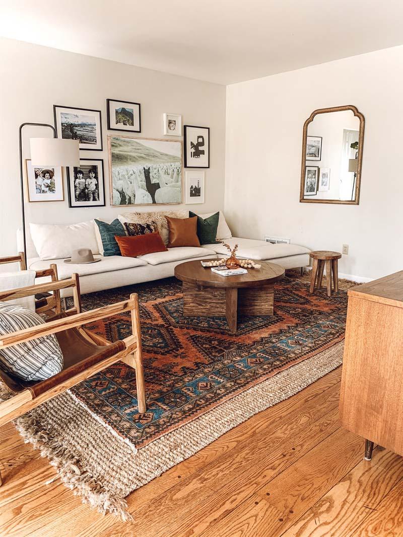 perzisch vloerkleed woonkamer