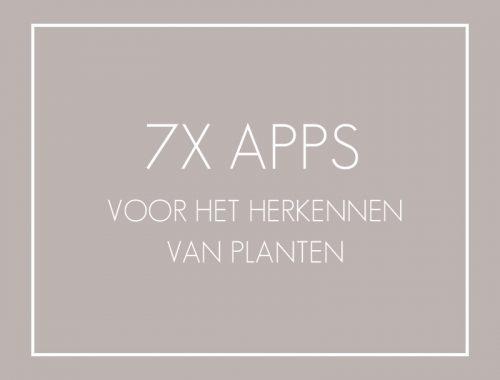 planten herkennen app