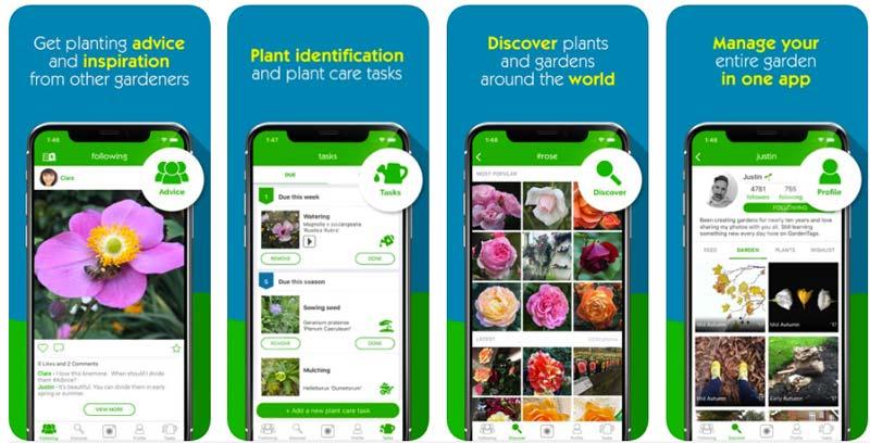 planten herkennen app garden tags