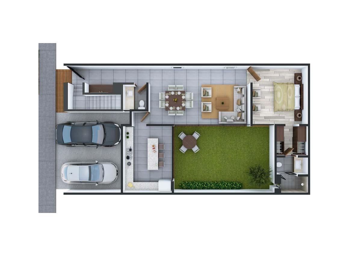 Plattegronden huis