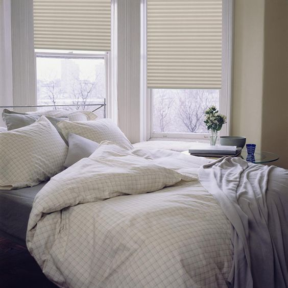 plissegordijnen ideeën slaapkamer