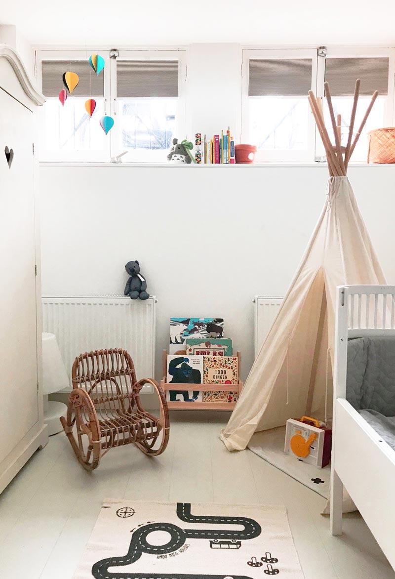 plissegordijnen in slaapkamer