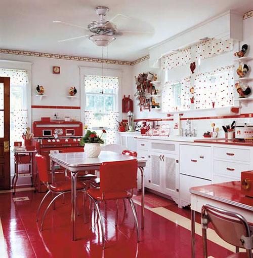 Retro keuken inrichten