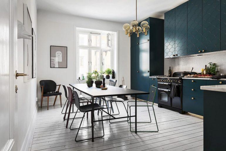 retro moderne keuken