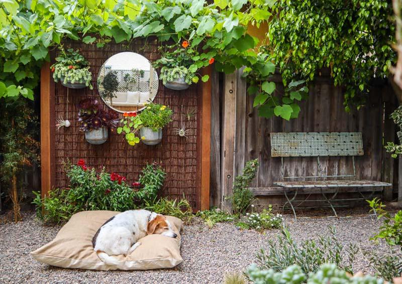 ronde tuinspiegel