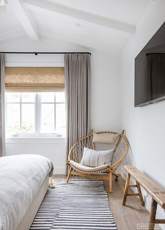 rotan lounge chair slaapkamer