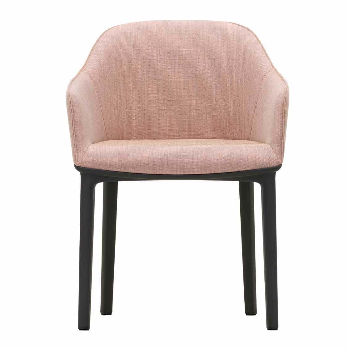 Roze Vitra Softshell Armstoel