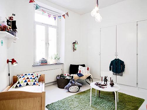 Behang Kinderkamer Scandinavisch : Scandinavische kinderkamer