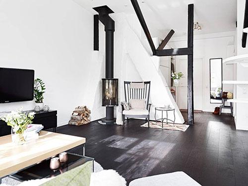 Scandinavische loft woning uit Zweden