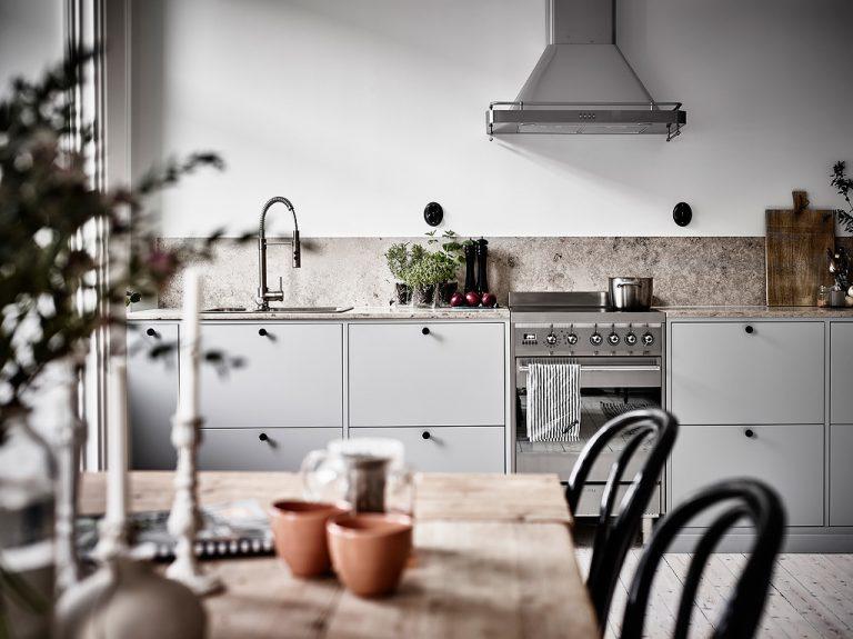 Scandinavische moderne keuken