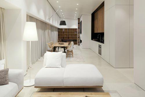 Sfeervolle witte loft