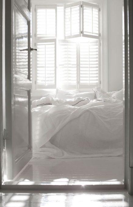shutters in slaapkamer