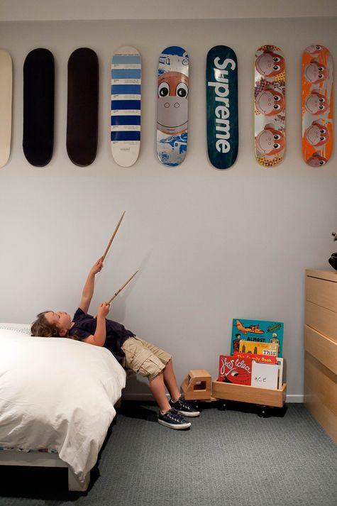 Uitzonderlijk Skateboard decks als wanddecoratie | Huis-inrichten.com &HE01