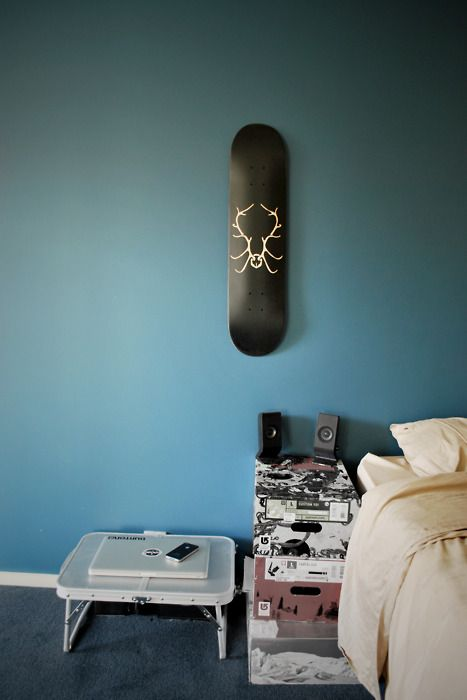 Populair Skateboard decks als wanddecoratie | Huis-inrichten.com @VI71