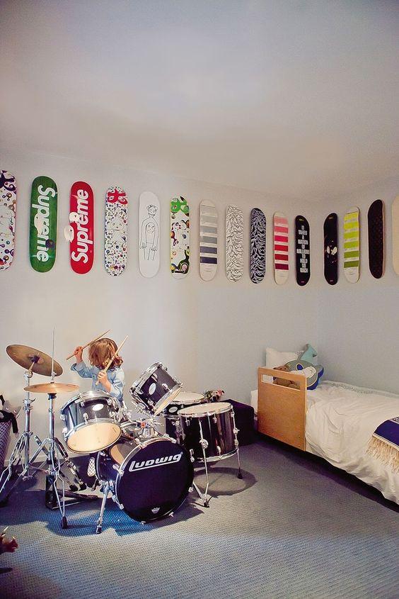 Top Skateboard decks als wanddecoratie | Huis-inrichten.com @YE36