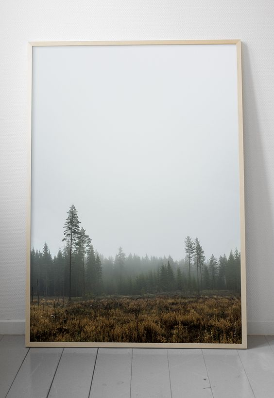 Skog poster van Fine Little Day