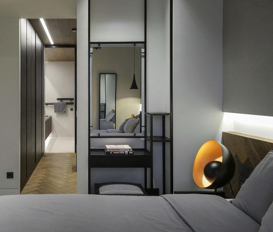 slaapkamer badkamer combineren ideeën