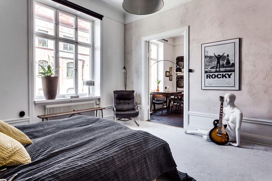 slaapkamer betonstuc
