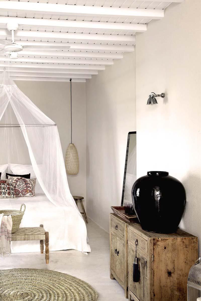 slaapkamer decoratie ideeën klamboe