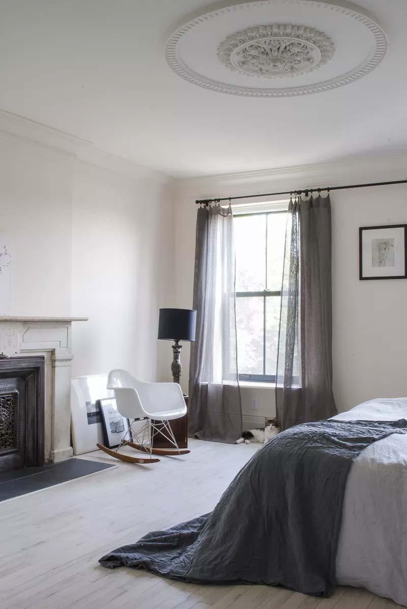 slaapkamer decoratie ideeën nonchalante look