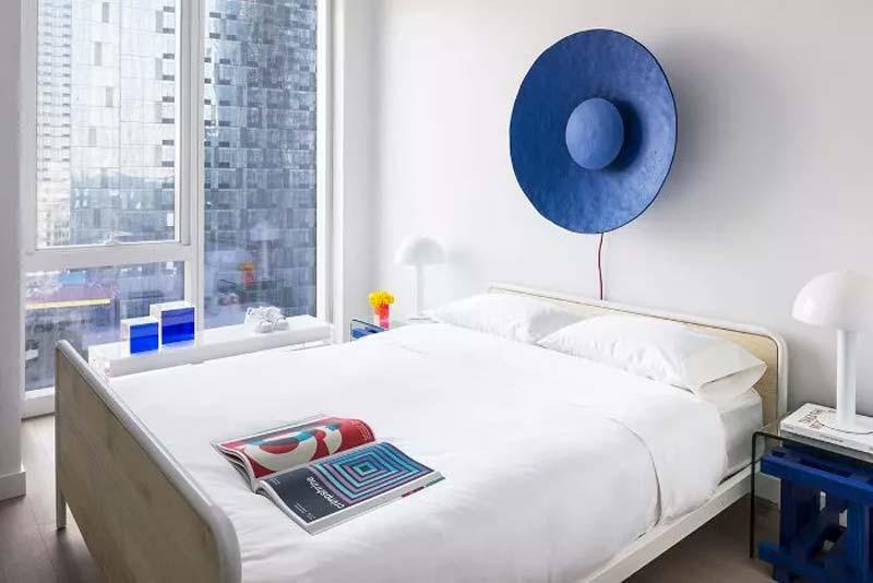 slaapkamer decoratie ideeën statement piece