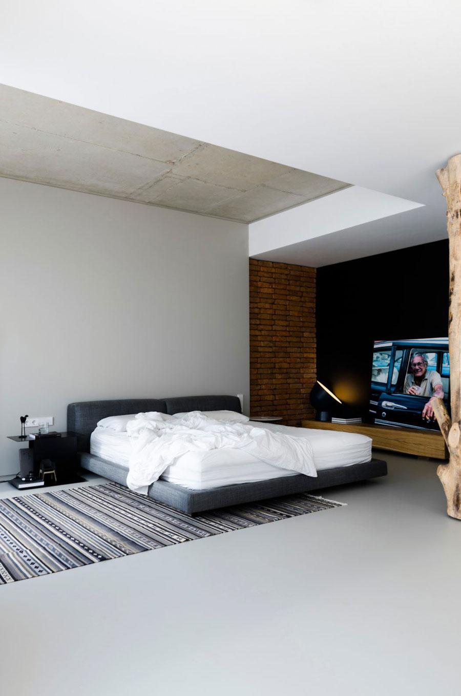 slaapkamer gietvloer grijs