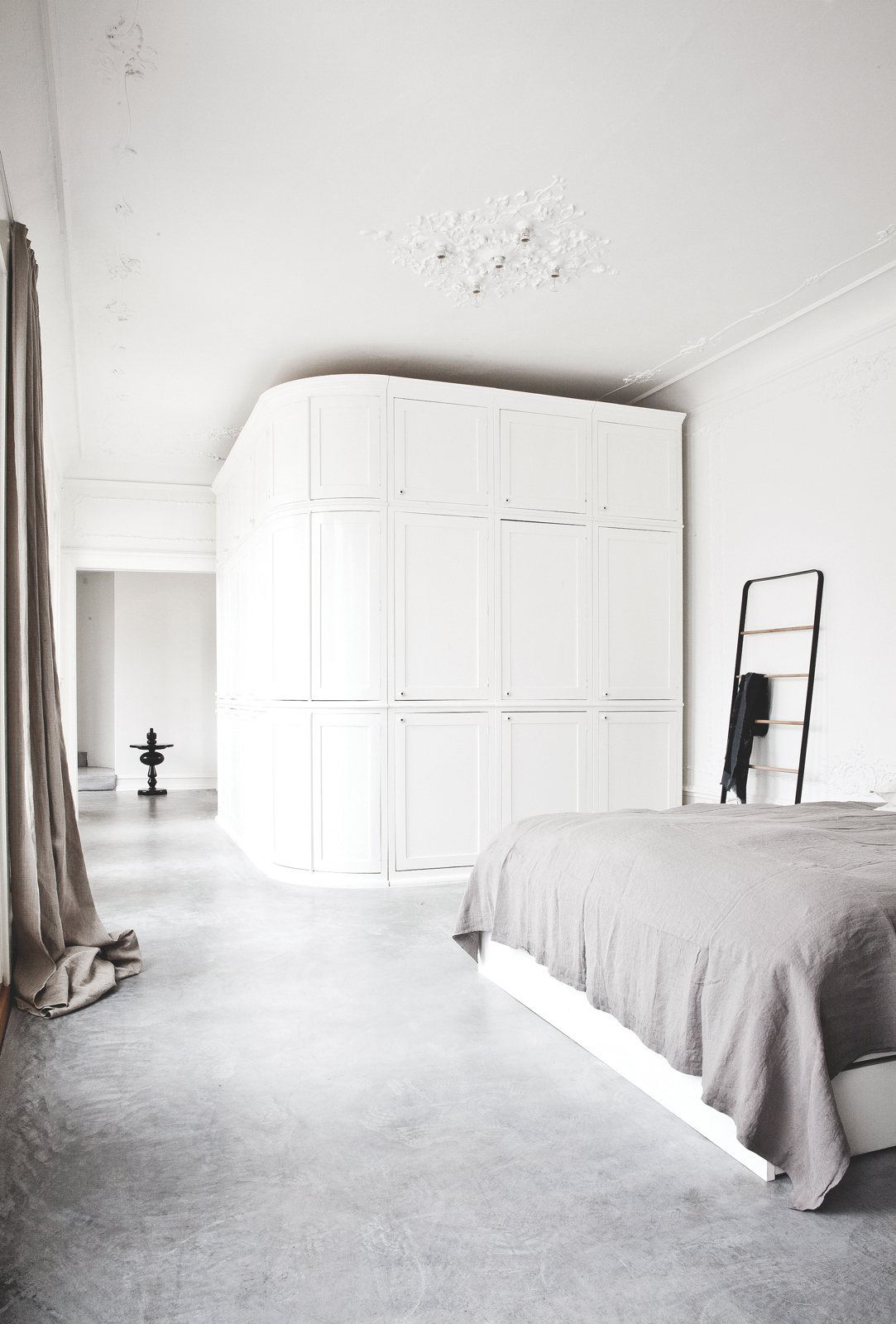 slaapkamer gietvloer ideeën