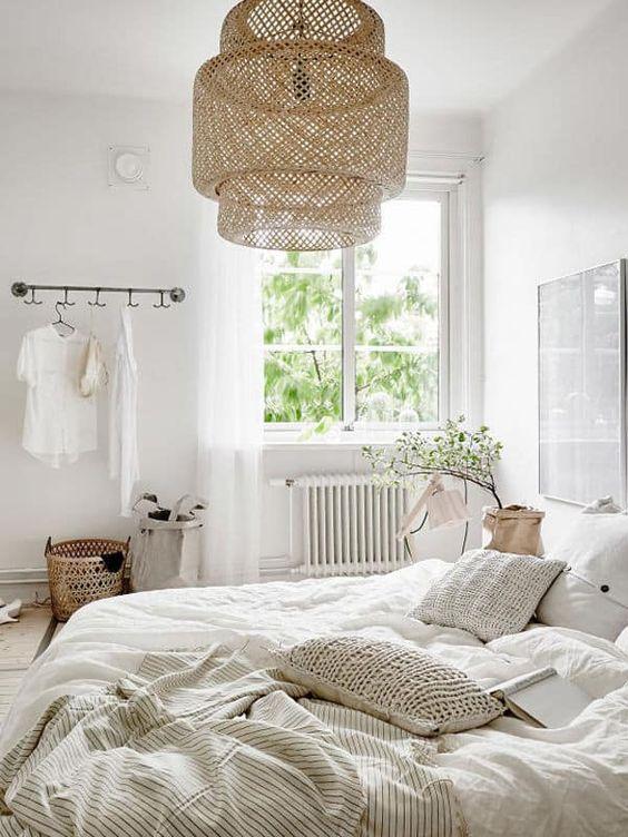 slaapkamer hanglamp boven bed