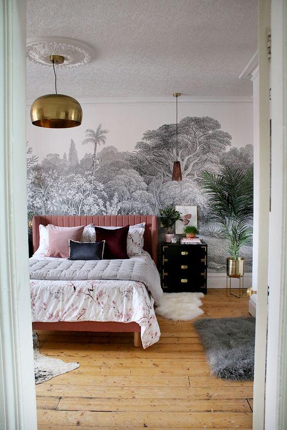 slaapkamer hanglamp inspiratie