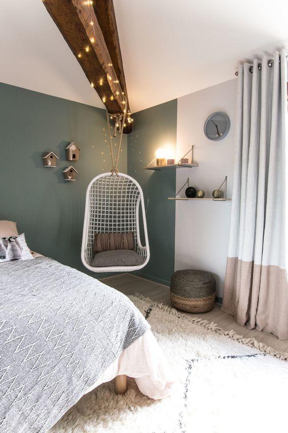 slaapkamer hangstoel ideeën