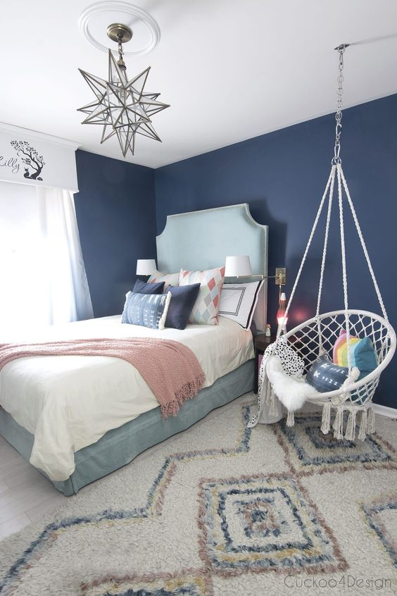 slaapkamer hangstoel