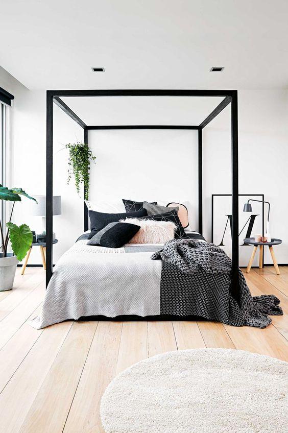 slaapkamer hemelbed