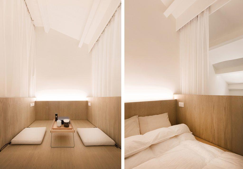 slaapkamer houten bed op maat