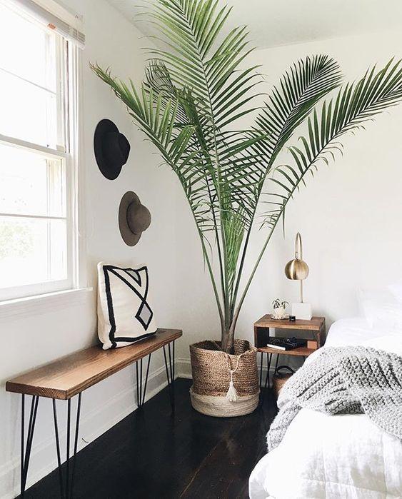 slaapkamer ideeën bankje