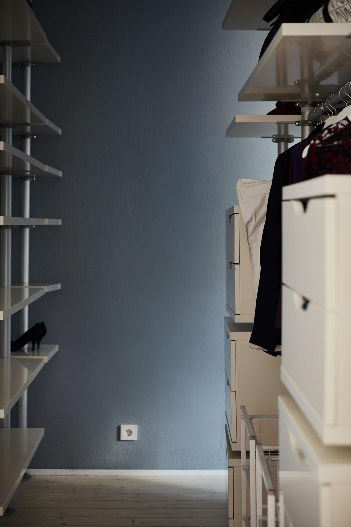 slaapkamer ikea inloopkast