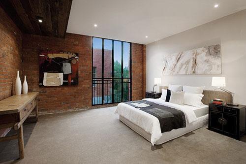 Slaapkamer indeling