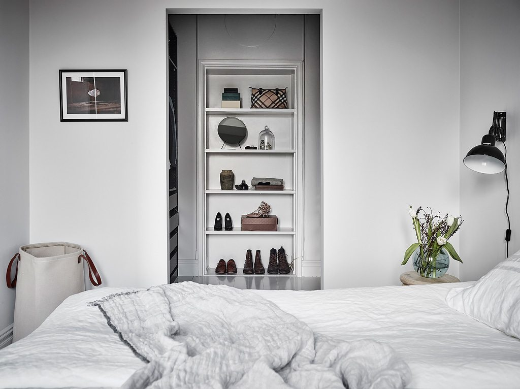 slaapkamer inloopkast ideeën