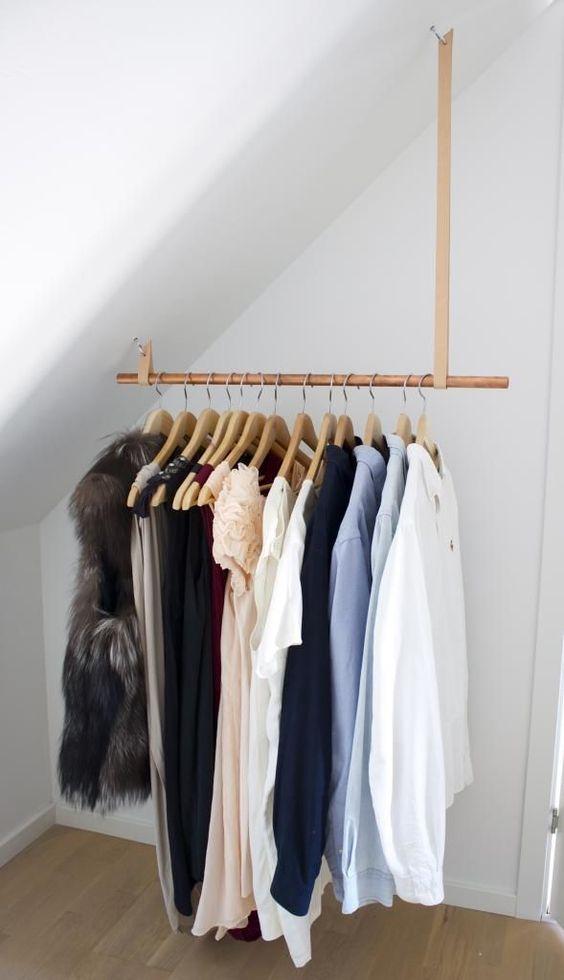 slaapkamer kleding ophangen