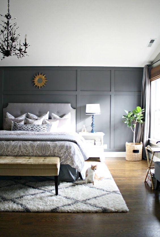 slaapkamer lambrisering