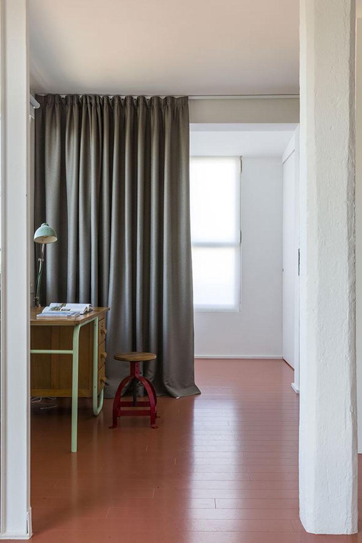 Deze slaapkamer heeft een loft style gekregen!