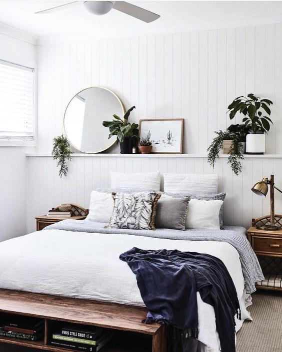 slaapkamer mooie lambrisering