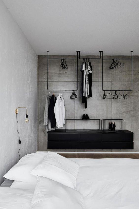 slaapkamer muren betonstuc